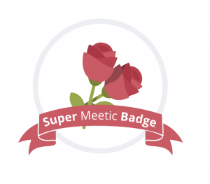 badge meetic